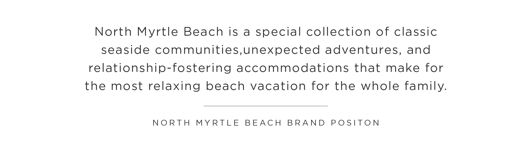 Vacation Strategy Myrtle Beach
