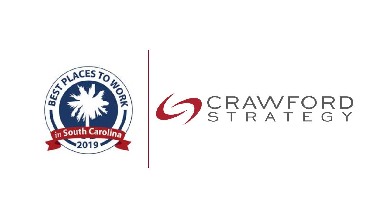 Crawford Strategy Named Among 2019 SC Best Places to Work